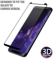 For Samsung Galaxy S9 Anti-Fingerprint Tempered Glass Screen Protector -Black