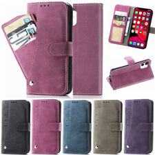 Matte Wallet Leather Flip Case Cover For iPhone 11 Pro X XR XS Max 7 8 Plus SE2