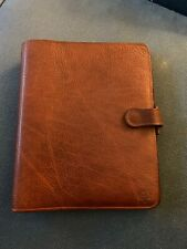 Genuine Brown Leather Mulberry Diary/ Agenda/ Filofax/ Planner/ Pocketbook