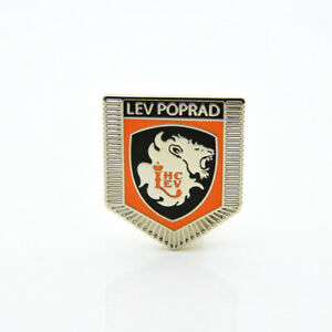 "KHL Lev Poprad ""Pennant"" pin, badge, lapel, hockey"