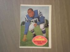 1960 TOPPS #5 JIM PARKER BALTIMORE COLTS FOOTBALL CARD