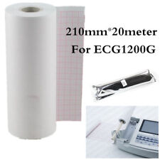 Thermal Printer paper for ECG EKG Machine ECG1200G,210mm*20meter,Recording Paper