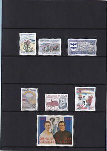 (11574) Greenland Year Pack 1992 MNH unmounted mint stamps