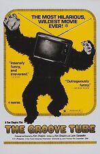 THE GROOVE TUBE (DVD)1974 MUSIC TV SATIRE COMEDY HIPPIE STUFF