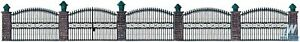 """Walthers 933-550 Wrought Iron Fence Kit -25-1/2"""""""" 65cm HO Scale Train"""