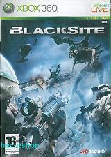 Blacksite Microsoft Xbox 360 16+ FPS Shooter Game
