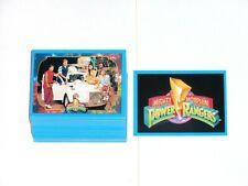 1994 Mighty Morphin Power Rangers SERIES 2 BASE 72 CARD SET PINK GREEN MEGAZORD