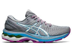 Asics Women's GEL-Kayano 27 Running Shoe, 1012A649 403, Digital Aqua/Slvr, 8.5M