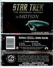 1999 Star Trek Original Series in Motion Premiere Edition 4 TC pack Lot