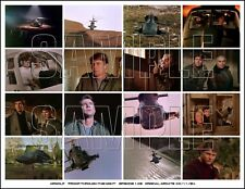AIRWOLF Collage Photo 103 JAN-MICHAEL VINCENT / ALEX CORD / ERNEST BORGNINE