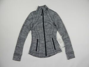 Lululemon Grey Define Jacket Heather Grey Women's 2 New AS IS