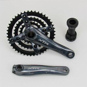 Shimano XTR FC-M960 Crank Set & Bottom Bracket, 3x9 Speed, 165mm, Hollowtech II