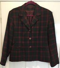 Dorothy Perkins Tartan Jacket Size 14