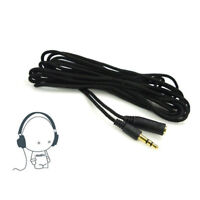 1.5M 4.9FT 3.5mm Female to Male F/M Headphone Stereo Audio Extension Cable Cord