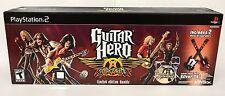 PS2 Guitar Hero: Aerosmith Limited Edition Bundle 2 Guitars, Game PlayStation 2