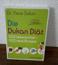 Dr. Pierre Dukan Buch.Die Dukan Diät.100 Lebensmittel, 100 neue Rezepte
