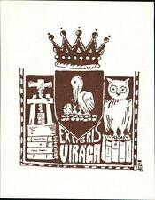'Viragh'   Bookplate    (JC.114)