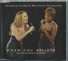 MARIAH CAREY & WHITNEY HOUSTON - WHEN YOU BELIEVE 1998 UK CD SINGLE PART 1