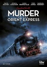 Agatha Christie's Poirot: Murder on the Orient Express, New DVD, David Suchet, J