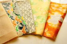 Japanese kimono Fabric | Patchwork Lot 512 | Vintage | SIlk | valued pack |