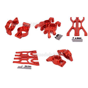 Alum RED DIY Part For RC 1/5 1/6 Traxxas X-MAXX XMaxx Xmaxx High Quality