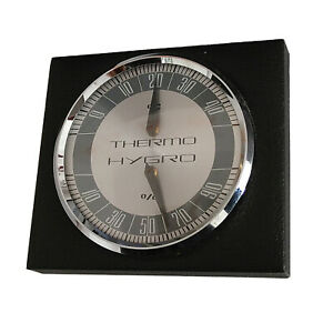 Hygrometer Thermometer analog Wilkie 9 x 8 cm Thermohygrometer Segeln