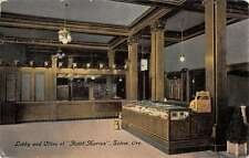 Salem Oregon Hotel Marion Lobby Interior Antique Postcard K31876