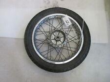Kawasaki Z 200 A1 Felge hinten Speichenfelge 1,85 x 17 Zoll DOT 1177 Reifen
