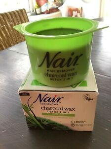 Nair Hair Remover Charcoal Wax Legs & Body 380 g (tatty box)