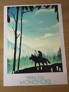 Studio Ghibli Princess Mononoke Print Poster