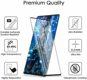 For LG Velvet 5G Tempered Glass Screen Protector [Full Coverage] [Anti-Scratch]