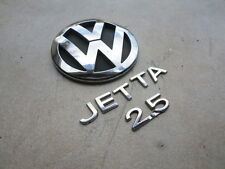 05-10 VW Jetta 2.5 Trunk 1K5 853 630 Logo 1K5 853 675 739 Emblem Ornaments Set
