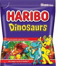 Haribo DINOSAURS Gummi Candy 4 oz. Share Size Fruit Gummy ** BB 6/2022 **