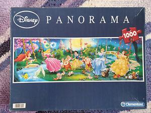 Disney Princess • Panorama • 1000 Piece Jigsaw Puzzle • Clementoni • RARE BOX