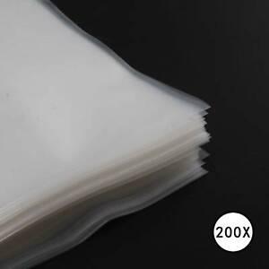 """200 LP Cover Schutzhüllen 12"""", Typ 150, für Vinyl Schallplatten, transparent"""