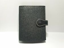 Mulberry Scotchgrain Leather Card Wallet Agenda very rare