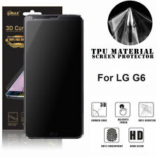 VMax Full Coverage Clear TPU Screen Protector Film for LG G6