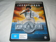 Project A - Platinum 2 Disc Edition - Jackie Chan - DVD - RARE Region 4