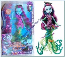 MONSTER HIGH DOLL POSEA REEF GREAT SCARRIER REEF GLOW IN THE DARK : NEW IN BOX