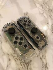 Nintendo Switch Custom Joy Con Transparent Clear Controller