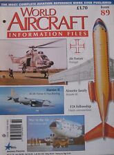 World Aircraft Information Files Issue 89 BAE Harrier II cutaway & poster