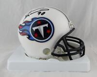 Jevon Kearse Autographed Tenn Titans Mini Helmet - Beckett W Auth *Black