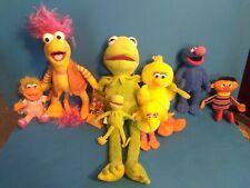 7 Sesame Street plush