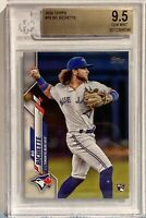 2020 Topps Series one #78 Bo Bichette Becket BGS 9.5 Toronto Blue Jays Rookie