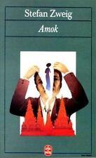 Amok Suivi de Lettre D'Une Inconnue (Le Livre de Poche) (French Edition)