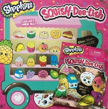 SHOPKINS SQUISH-DEE-LISH SERIES2 SLOW RISE SQUEEZE ME Brand New Sealed Blind Bag