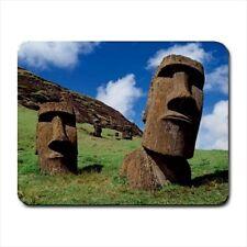Moai Statues Easter Islands Mousepad (Neoprene Non-slip Mousemat)