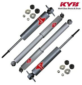KYB 2 FRONT SHOCKS SAVANA YUKON XL1500 CHEVROLET SUBURBAN RWD AWD 1500 00 to 06