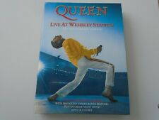 QUEEN LIVE AT WEMBLEY 2 DVD 2 CD - 2011 SET - LIKE NEW - REGION 0