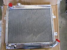 FIAT SPIDER ALUMINUM RADIATOR-NEW, 75-78, 1800 ENGINE